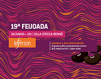 """Hotsite para a 19"""" Feijoada Jefferson de Almeida"""