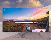 FindMyAdventure Landing Page
