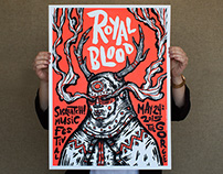 Royal Blood Gigposter