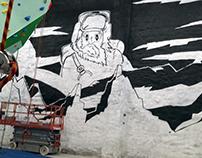 Mural (25mx13m) Toronto 2016