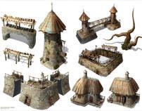 Fantasy props set