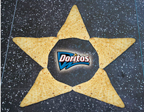 Advert for Doritos chips