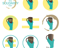 Solidarity Cup Logo & Take-aways