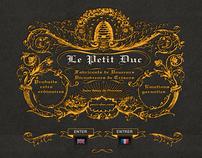 Le Petit Duc - Website