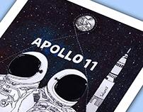 Apollo 11 Illustration