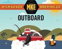 MILWAUKEE BREWING CO. | Outboard Cream Ale