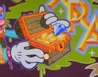 """Mural @ Under Pressure's """"Fresh Paint Gallery"""""""