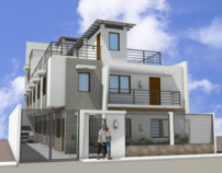Proposed 3-Storey Apartment Residence w/ RD (5-Door)