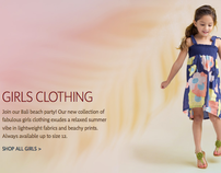 Tea Collection Girls Clothing Product Copy Examples