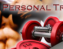 Personal Trainer - CARD/FOLDER/T-SHIRT