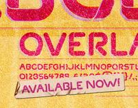 'Overlap' Font design