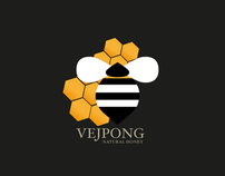 REDESING PACKAGING VEJPONG NATURAL HONEY