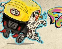 Funk Factory, Logo Design