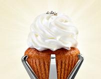 Petits Gâteaux, Cupcake Boutique - Print Campaign
