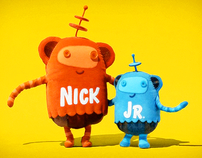 "Nick Jr ""Huggables"" Logo IDs 2008 ( space monkeys)"