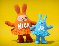 "Nick Jr ""Huggables"" Logo IDs 2008 ( bunnies)"