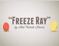 Freeze Ray Animation
