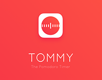 Tommy - The Pomodoro Timer. UX & UI Design
