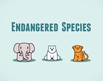 Endangered Species Interactive Infographic