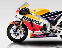 HONDA RCV1000R MotoGP Replica