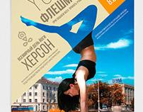 yoga day flash mob