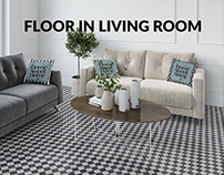 Floor in Living Room Set