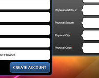 Firewater, Your Brand Here iPad form app