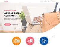 Job Career Landing Page