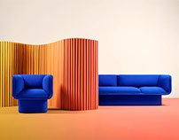 Block Sofa by MUT Design