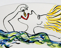Beschilderd keramiek - Painted ceramics