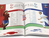 Infographic Euro 2012 matchs