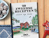 Swedish recipe book
