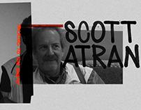 SCOTT ATRAN documentary series logo & identity system