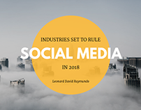 Industries Set to Rule Social Media in 2018