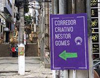 Wayfinding | Corredor Criativo Nestor Gomes