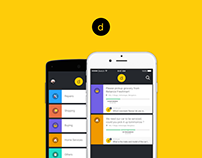 Dunzo | Mobile UI/UX Design | Team Uncommon