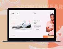 Concept Website 4 Sportswear Shop