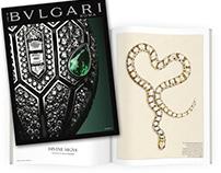 "BVLGARI. DIVINE SIGNS. ""Life in Bulgari"" magazine"