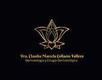 Diseño de Marca. Dra. Marcela Collazos. Dermatología