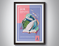 "3- Books Poster Greek ""Alexandria The Cultural"