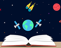 Cosmic Knowledge Illustration