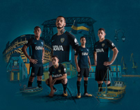 NIKE - BOCA JUNIORS ILLUSTRATION & RETOUCHING