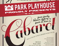 Cabaret Logo and Poster