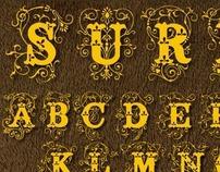 Surrey font