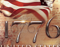 1776 Independence Day Flyer & CD Artwork Template