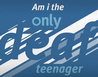 NDCS 'Am i the only deaf teenager?'