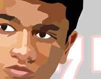 Wedha's Pop Art Portrait (WPAP) Birthday Poster Gift