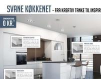 Svane Køkken layout