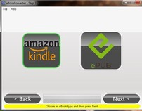 Application that converts Word documents to eBooks