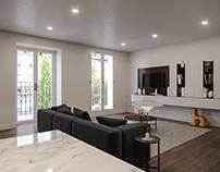 120m² apartment